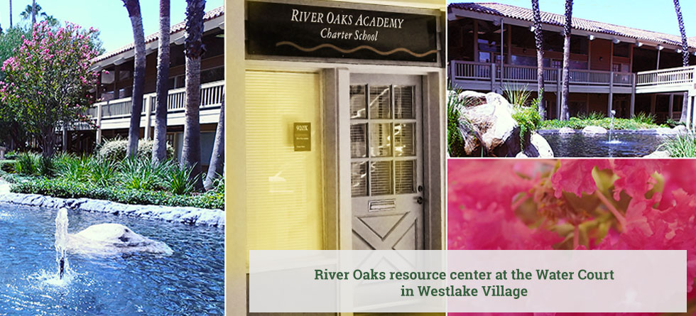 River Oaks resource center at the Water Court in Westlake Village